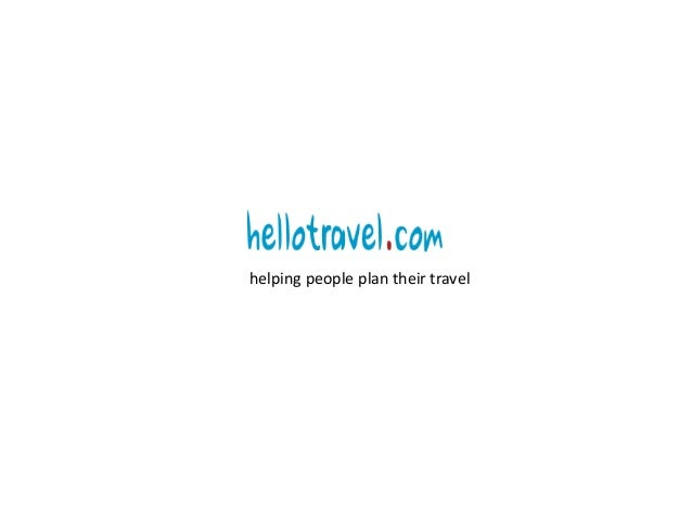 helping people plan their travel