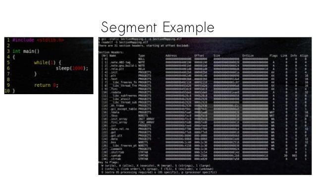 Segment Example