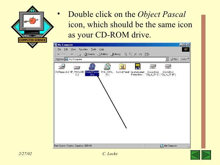 Hello world pascal tutorial
