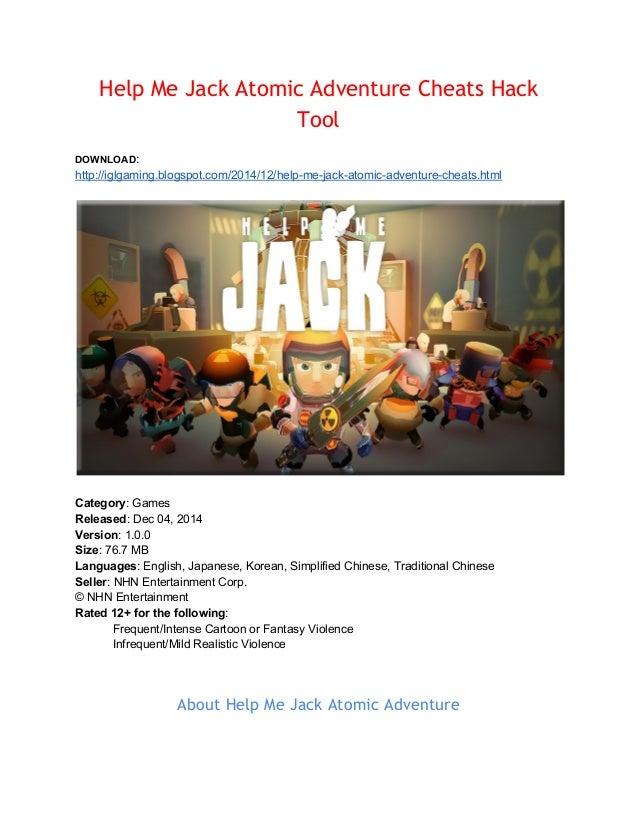 Help me jack atomic adventure coupon