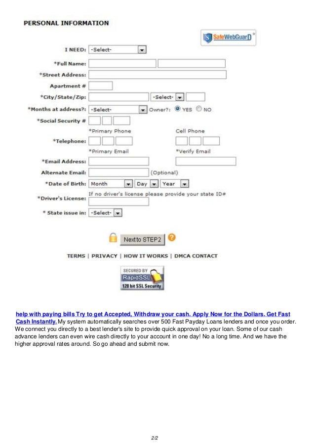 Jdf credit union quick cash loan picture 1