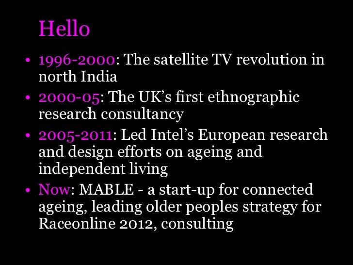 Technology and Helpage International Slide 2