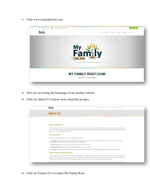 how to create my family tree in online