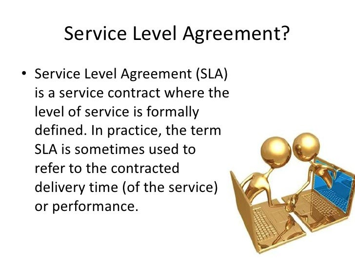 Helpdesk Service Level Agreements – Service Level Agreement