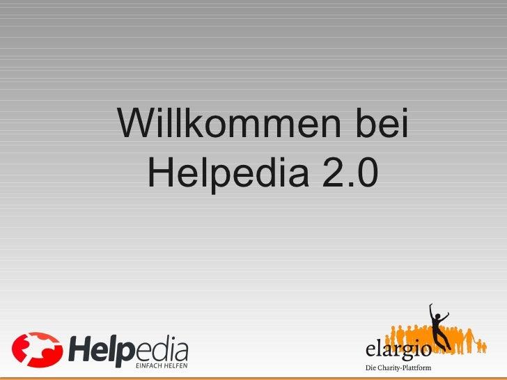 Willkommen bei Helpedia 2.0