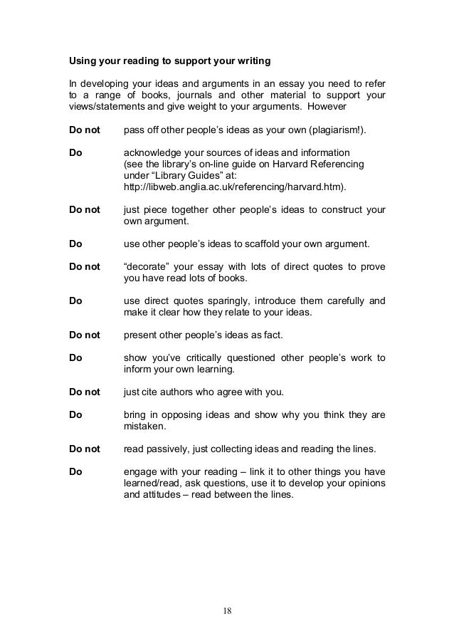 helpful guide to essay writing 18