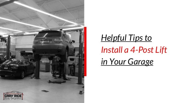 Tips To Install A 4