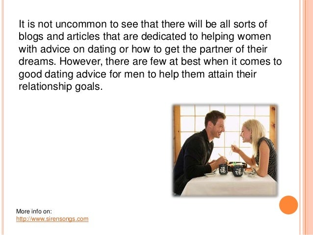 setting dating goals