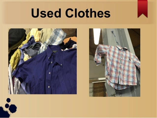 Online used clothing