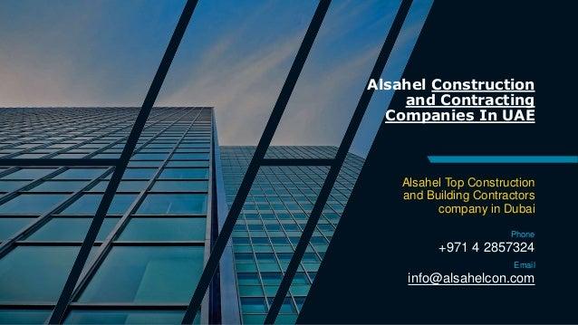 UAE Contracting Companies - Building Construction