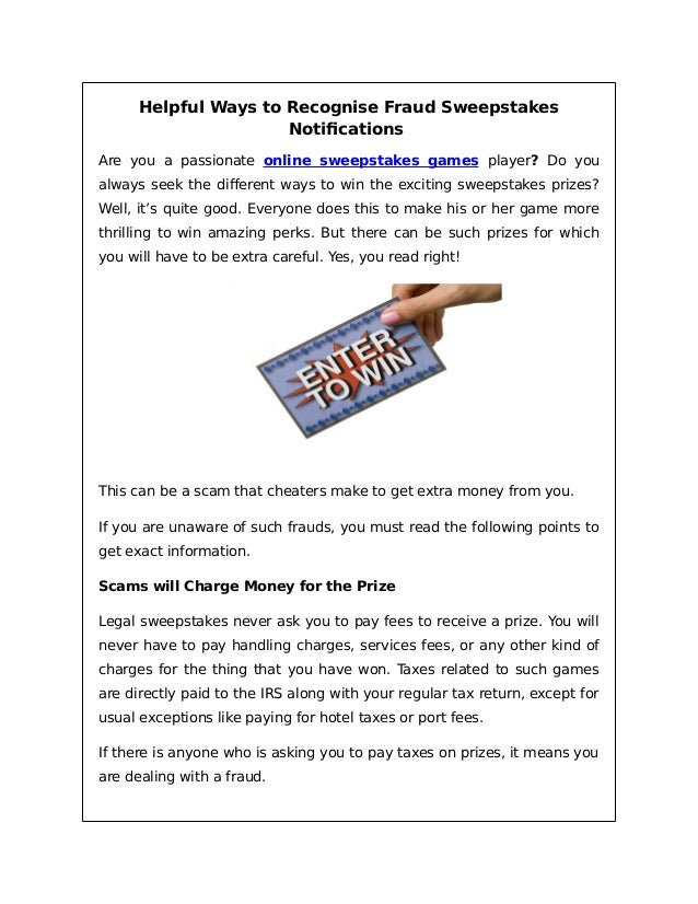 Read you can win online prizes