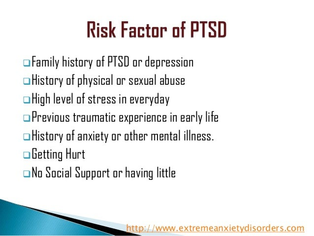 a look into post traumatic stress disorder Dsm-iv's criterion d2, irritability or outbursts of anger, has been separated into emotional (eg, d4) and behavioral post-traumatic stress disorder.