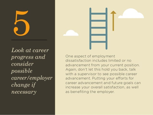 how to increase job satisfaction in How to improve job satisfaction and increase employee engagement job satisfaction is critical to high productivity, motivation and low employee turnover employers face the challenges of finding ways to increase job satisfaction so their businesses stay competitive.