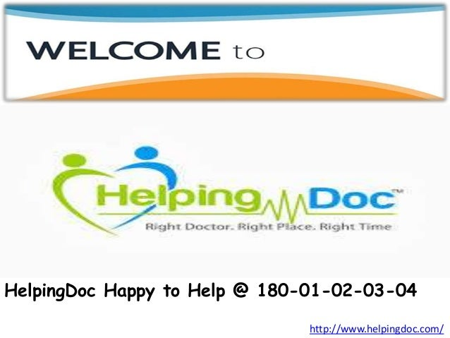 HelpingDoc com - Book Doctor Appointment Online
