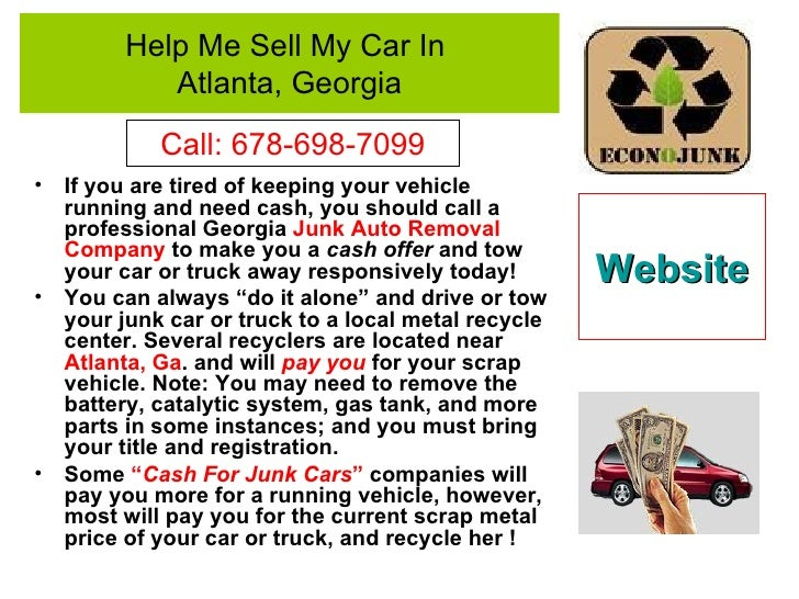 Sell Your Junk Car Near Me