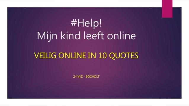 Help Mijn Kind Leeft Online