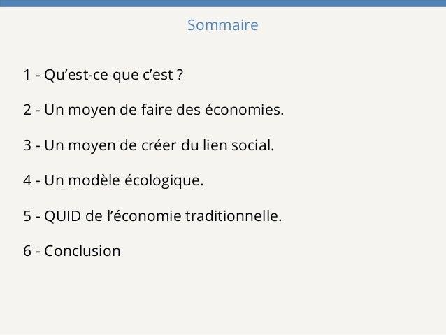 L'ascension de la  Consommation Collaborative en France Slide 2