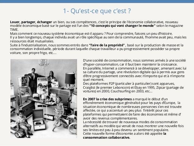 L'ascension de la  Consommation Collaborative en France Slide 3