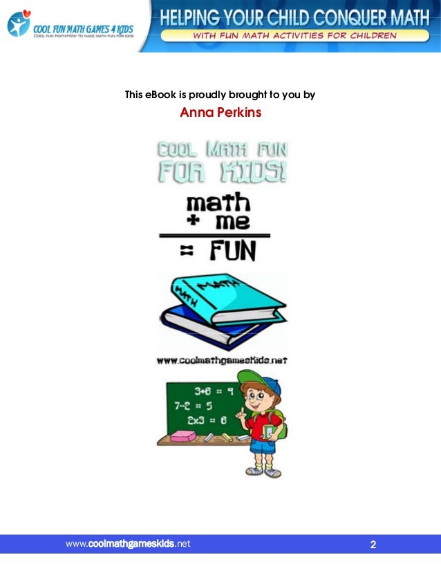 How can I make math fun for kids