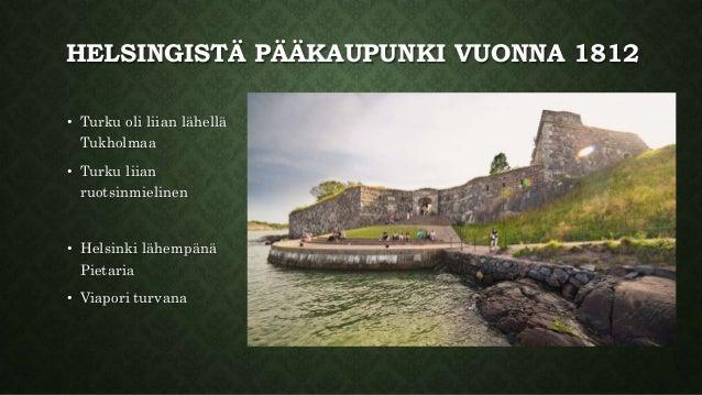 Helsingistä pääkaupunki Slide 2