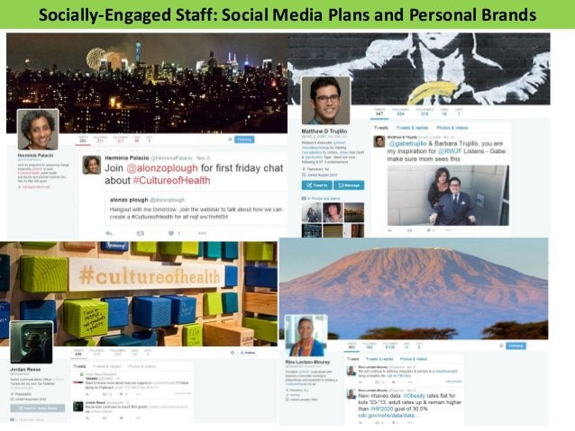 Redefining Brand Ambassadors for Digital • Any stakeholder who is passionate about your organization – Staff, Board, and S...