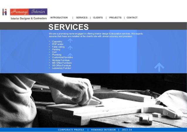 Interior Design and Furniture Services By Hemangi Interior, Mumbai  Slide 3