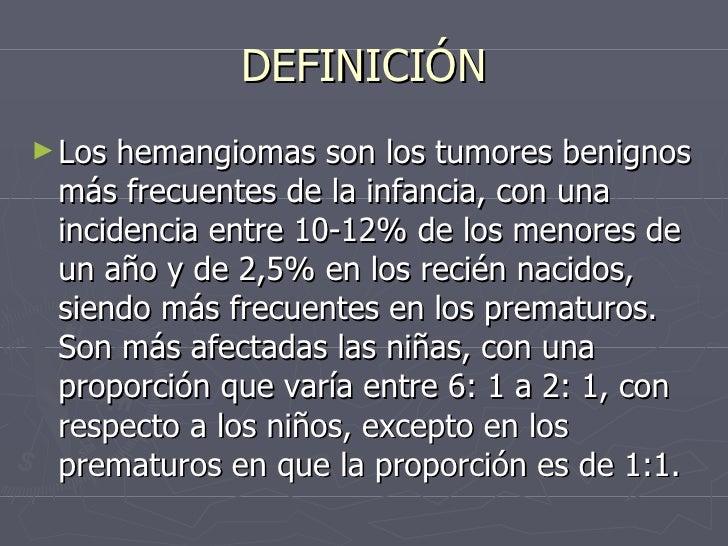 Hemangiomas y hemangiomas cavernosos for Definicion de vivero