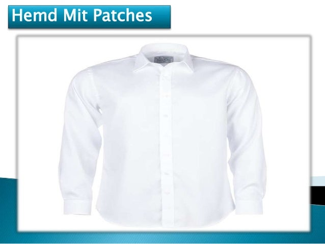 hemd mit patches