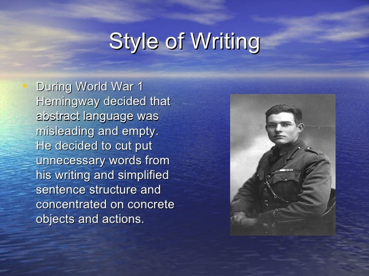 the early life of earnest hemingway and his literary career Download the ernest hemingway facts & worksheets early life ernest miller hemingway was born on july 21 ernest hemingway's literary career.