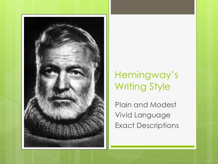 hemingway hero essay Get help on 【 hemingway's code hero: survival in the existential world essay 】 on graduateway huge assortment of free essays & assignments the best writers.