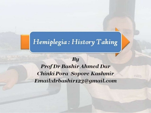 Hemiplegia Part-1 By Prof Dr Bashir Ahmed Dar Sopore Kashmir