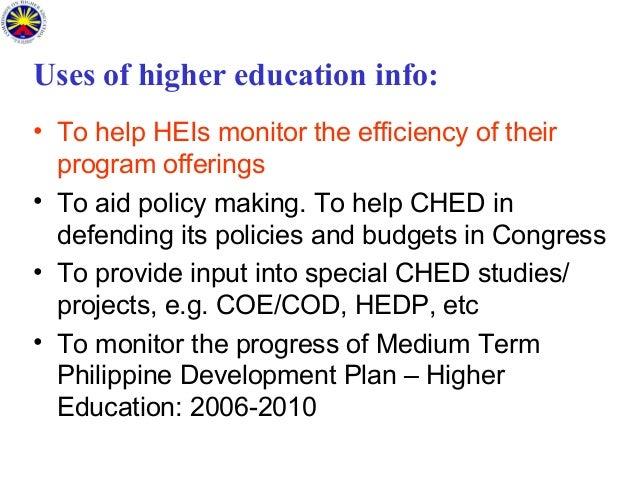 higher education management information system