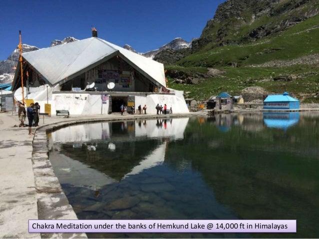 Chakra Meditation under the banks of Hemkund Lake @ 14,000 ft in Himalayas