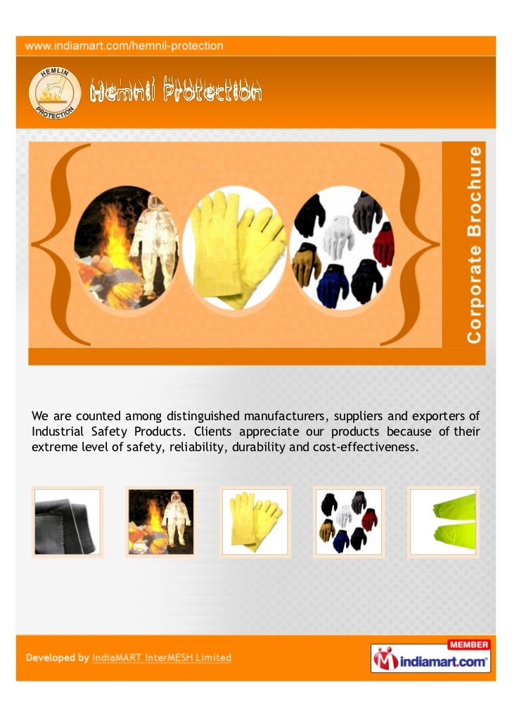 We are counted among distinguished manufacturers, suppliers and exporters ofIndustrial Safety Products. Clients appreciate...