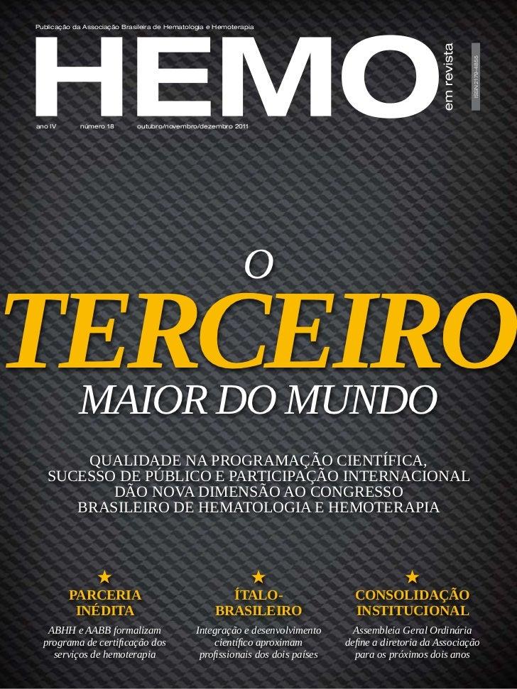Publicação da Associação Brasileira de Hematologia e Hemoterapia                                                          ...