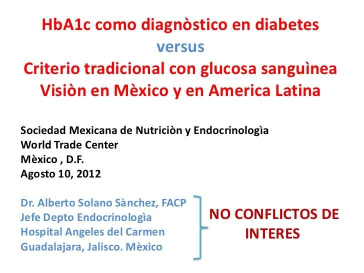 diabetes glicosilado