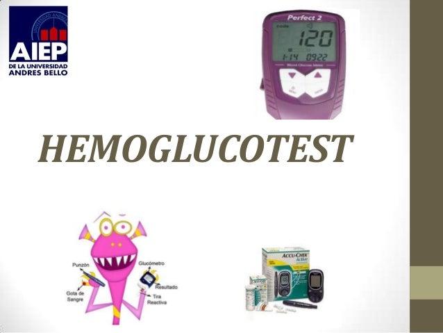 HEMOGLUCOTEST