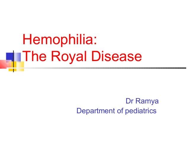 Hemophilia A Pediatrics