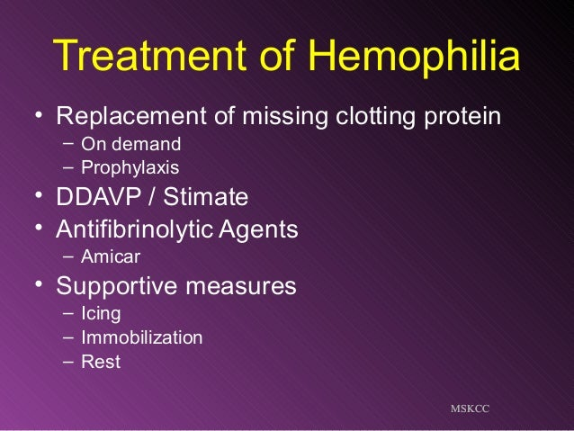 Hemophilia fellow talk2014