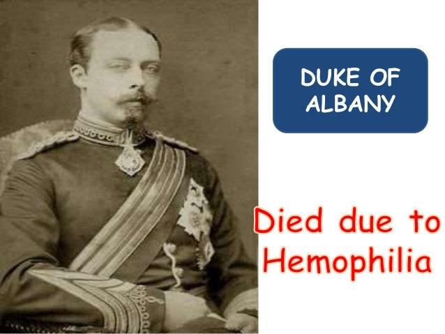 Hemophilia the royal disease