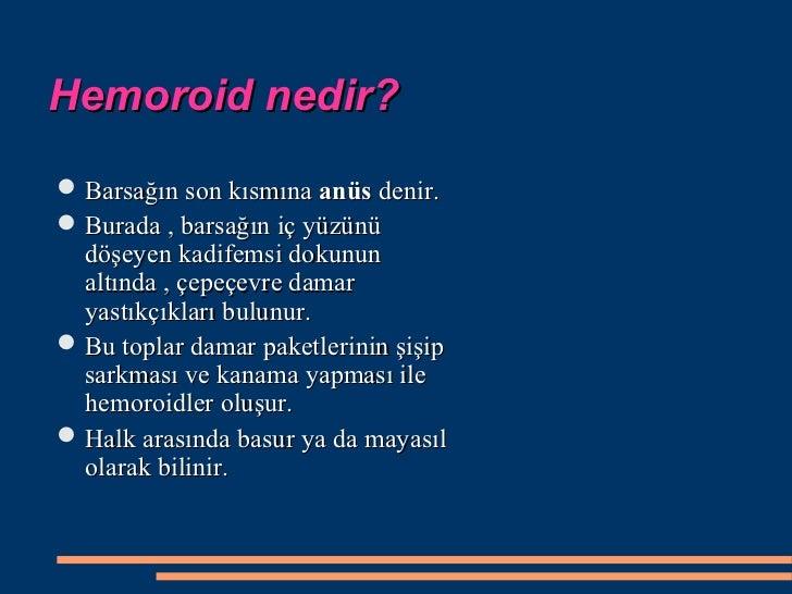 Hemoroid Basur Slide 2