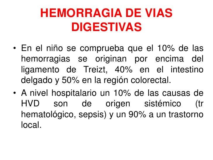 Hemorragia de vias digestivas en el niño Slide 3