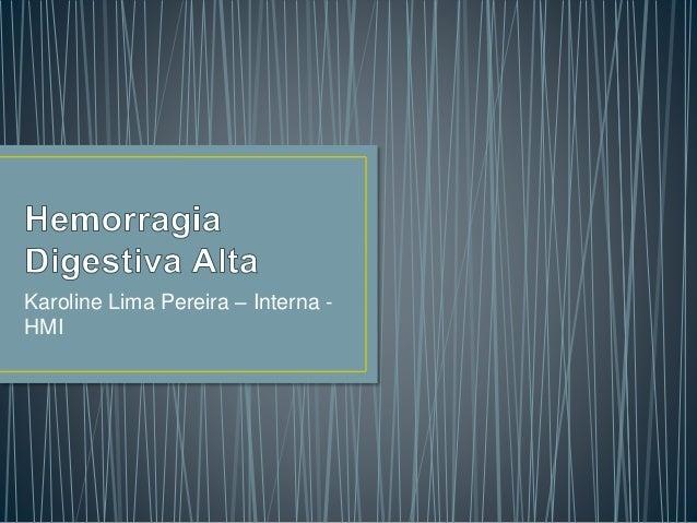 Karoline Lima Pereira – Interna - HMI