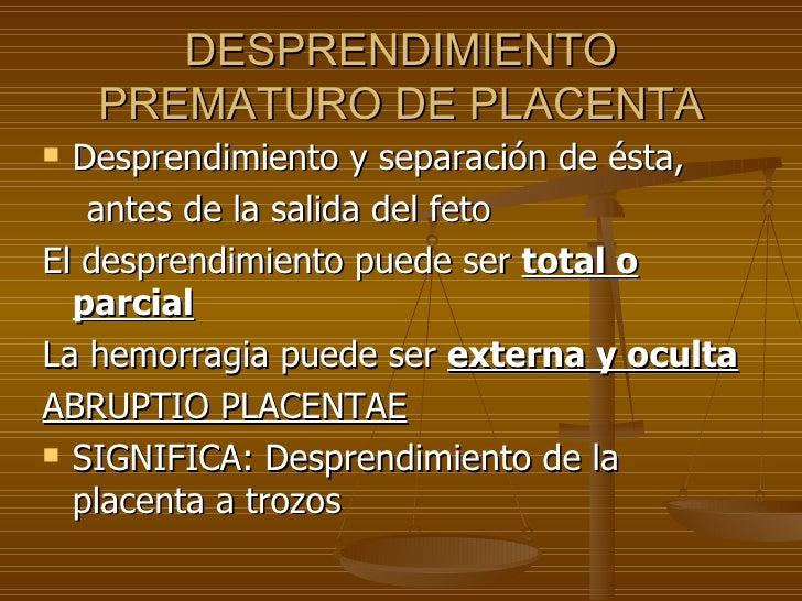 Hemorragia causada por el embarazo Slide 2