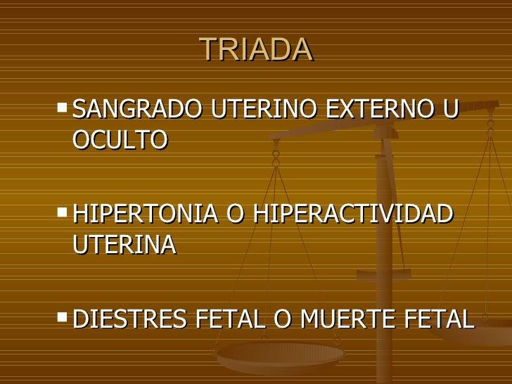 Hemorragia causada por el embarazo Slide 3