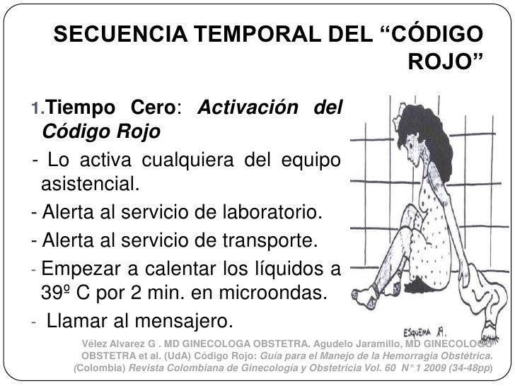 """SECUENCIA TEMPORAL DEL """"CÓDIGO                           ROJO""""1.Tiempo Cero: Activación del  Código Rojo- Lo activa cualqu..."""