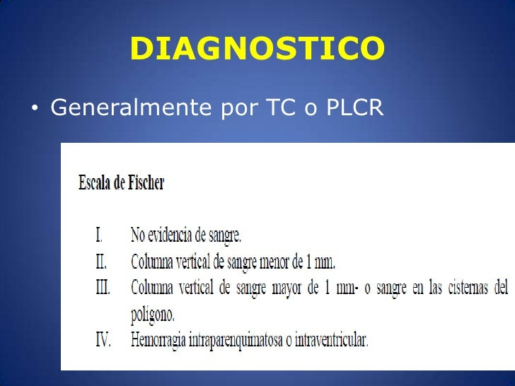 DIAGNOSTICO<br />Generalmente por TC o PLCR<br />