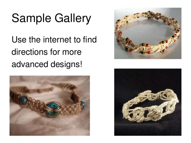 Hemp Jewelry PowerPoint