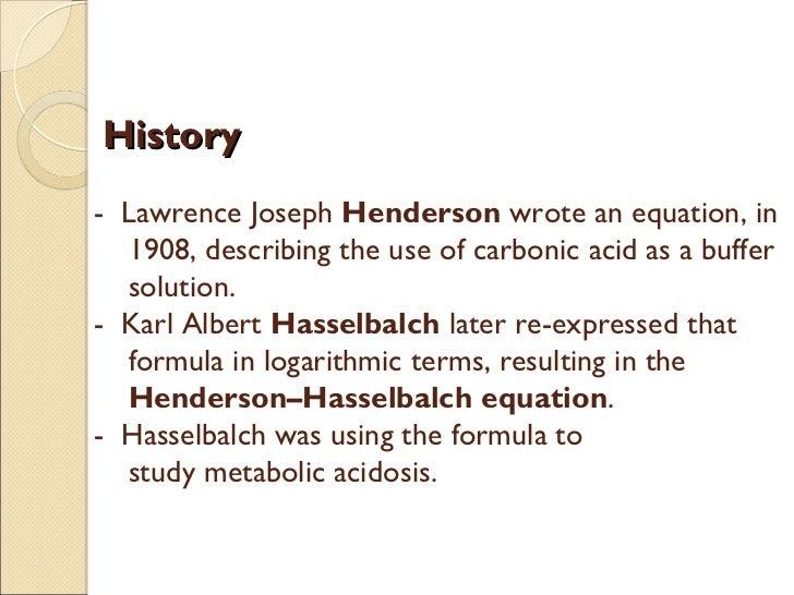 Ecuacion De Henderson - Hasselbach Ebook