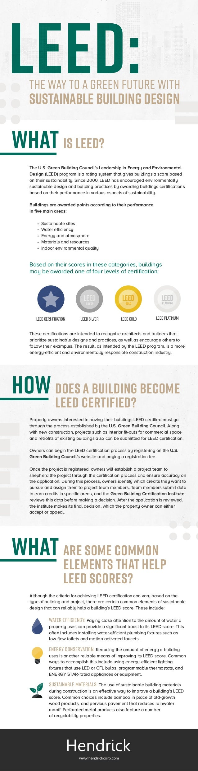 U.S. Green Building Council's Leadership in Energy and Environmental Design (LEED)